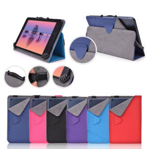 "Universal Tablet Leather Stand Cover Case for 7""-8"" pictures & photos"