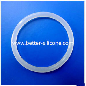 Transparent Clear Silicone Rubber O Ring Seal pictures & photos