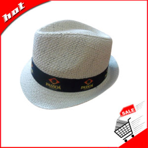 Fedora Hat Paper Hat Straw Hat Woven Paper Hat pictures & photos