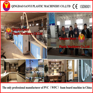 WPC Foam Board Extrusion Line/WPC Machine /Extruder/Plastic Machinery pictures & photos