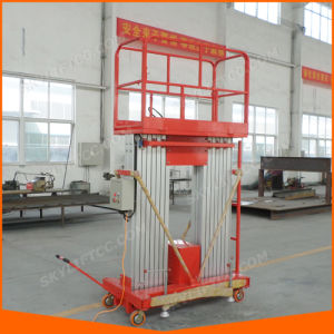 10-14m Self-Propelled Aluminum Lift Table for Warehouse pictures & photos
