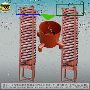 Gravity Separation Spiral Concentrator (5LL)