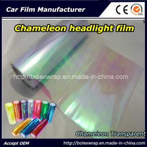 Chameleon Transparent Car Light Vinyl Sticker Chameleon Car Headlight Tint Vinyl Films Car Lamp Film pictures & photos