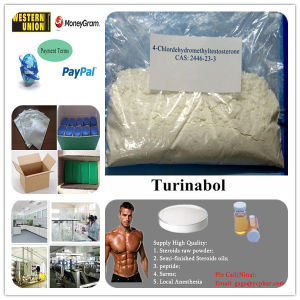 4-Chlorotestosterone Acetate Oral Turinabol Steroid Powder T-Bol (CAS 2446-23-3) pictures & photos