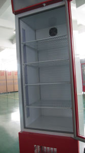 Transparent Glass Door Upright Fridge, Upright Refrigerated Showcase (LR-368) pictures & photos