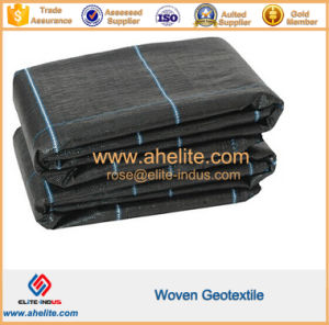 PP Polypropylene Pet Polyester Continuous Filament Woven Geotextile pictures & photos