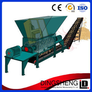 Best Selling Double Shaft Wood Furniture Shredder Machine pictures & photos