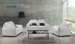 China Newest Living Room Genuine Leather Sofa A988 pictures & photos