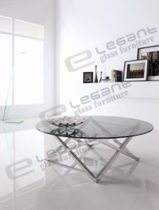 Stainless Steel 12mm Clear Tempered Glass Ca816b pictures & photos