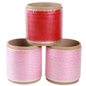 5000m Bobbin HDPE Resealable Bag Sealing Tape pictures & photos