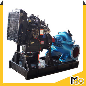 Diesel Efficient Portable Double Suction Water Pump pictures & photos