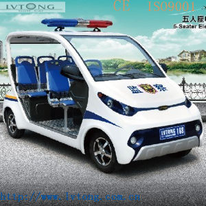 4 Seaters Police Electric Vehicle for Sale pictures & photos