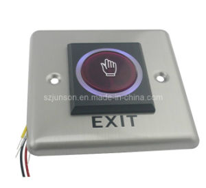 Infrared Sensor Touch Free Door Exit Button with LED Indicator for Hollow (JS-H1) pictures & photos