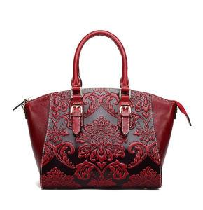 Luxury Top Designer Genuine Leather Purse Handbags for Ladies for Sale pictures & photos