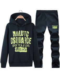 Wholesale Custom Fleece Sports Wear Set with Hood pictures & photos