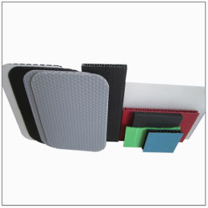 Low Cost Adjustable Hollow Grid Plate Extrusion Plastic Moulding pictures & photos