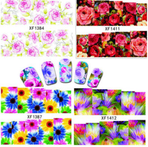 Nail Art Water Decal Transfer Tatto Sticker Nail Beauty Decoration pictures & photos