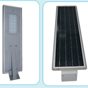 Convenient and Durable Integrated Solar Street Lamp with PIR Sensor pictures & photos