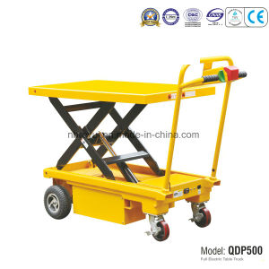 Ce Approved 500kg Full Electric Table Truck pictures & photos