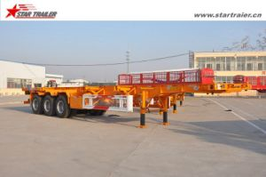 12.5m Port Container Chassis Trailer for Truck pictures & photos