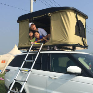 China Supplier 2~3 Persons off Road Fiberglass Car Roof Top Tent pictures & photos