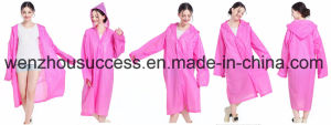 Custom Waterproof PVC Rain Poncho pictures & photos