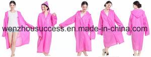Custom Waterproof PVC Rain Poncho pictures & photos