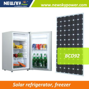Factory Price 92L Solar Power Refrigerator pictures & photos