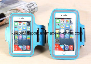Fashion 3mm Neoprene +PVC Mobile Armband for iPhone