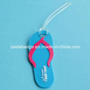 Flip-Flops Rubber PVC Keyholder for Promotion pictures & photos