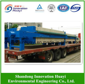 Plate and Frame Filter Press for Sludge Dewatering pictures & photos