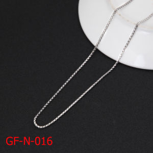 High Quality Fashion Stainless Steel Box Chain Necklace pictures & photos
