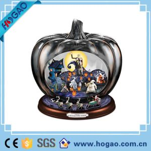 Halloween Theme and Holiday Decoration Gift Resin Pumpkin and House pictures & photos