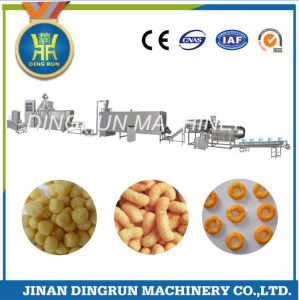 Puff corn snack food extruder machinery with CE pictures & photos