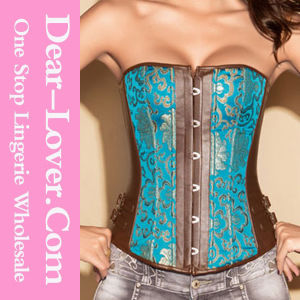 Sexy Plus Size Steel Boned Corset pictures & photos