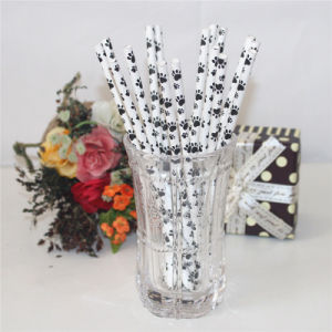 Disposable Products Cute Paper Drinking Straw pictures & photos
