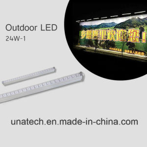 High Brightness LED Streamlined Spotlight for Outdoor Billboard pictures & photos