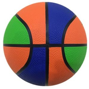 Two or Three Color Black Chanel Rubber Basketball pictures & photos