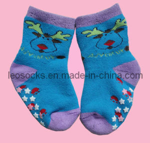 Baby Terry Cotton Socks (DL-CS-28) pictures & photos