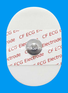 Disposable Medical ECG Electrode for Cardiac Monitoring pictures & photos