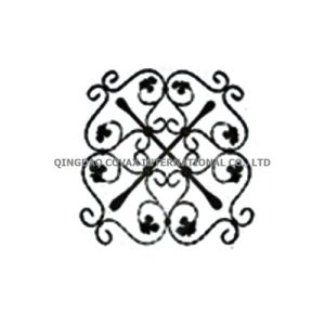 Forged Gate Panel 11062 Wrought Iron Rosette pictures & photos