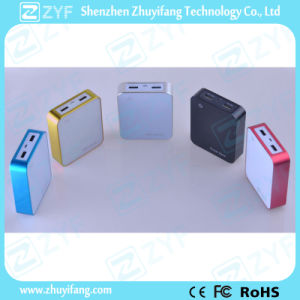 Square Box Design Power Bank with Capacity Display Screen (ZYF8028) pictures & photos