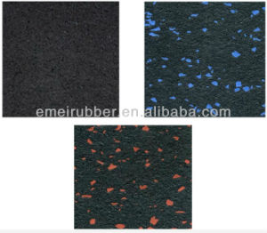EPDM Granules Dots Interlocking Rubber Mats pictures & photos
