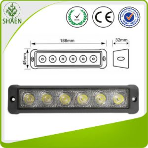 Epistar LED Working Light 18W Strip Shape pictures & photos
