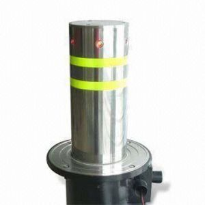 Automatic Pneumatic Bollard (DBO-220P4-600/750) with Reflective Tape