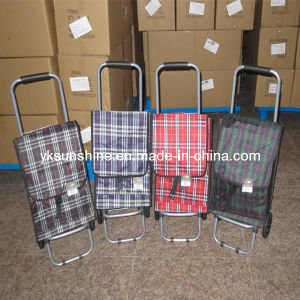 Folding Shopping Trolley Bag (XY-409A) pictures & photos