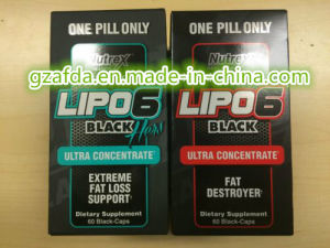 OEM/Nutrex Research Labs Lipo 6 Black Ultra Concentrate 60 Black Capsule Sports Energy pictures & photos