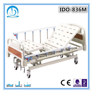 3 Functions Manual Cheap Hospital Bed pictures & photos