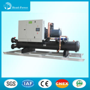 200tr 200ton R134A Industrial Water Cooled Screw Chiller pictures & photos
