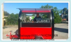 Ice Cream Mobile Food Van for Sale pictures & photos